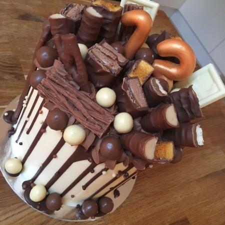 Age Chocolate Loaded Cake