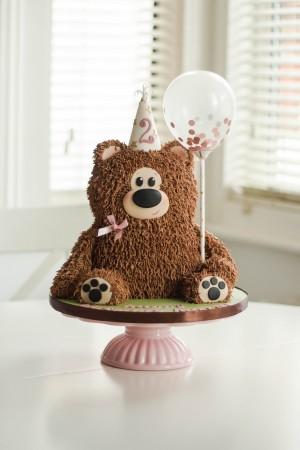 Dairy Free teddy bear cake