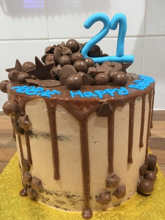 Dripped Celebration Cake