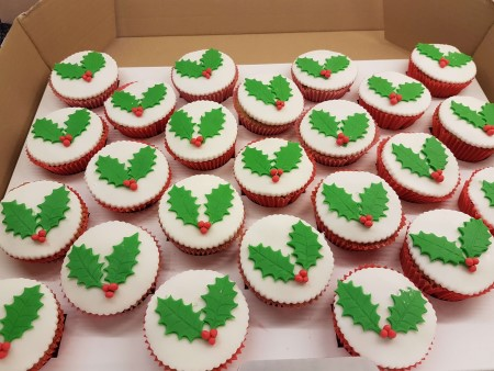 Christmas Mincemeat Cupcakes