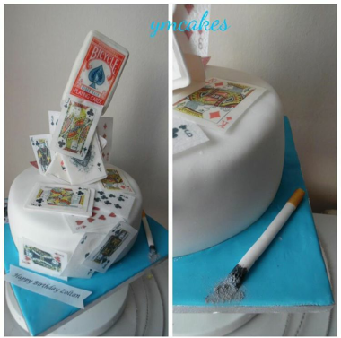 Adult themed cake