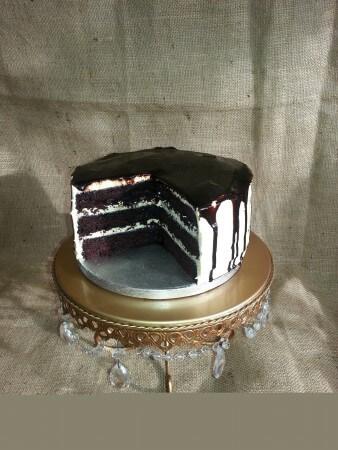 Vegan Gluten Free Tuxedo Cake