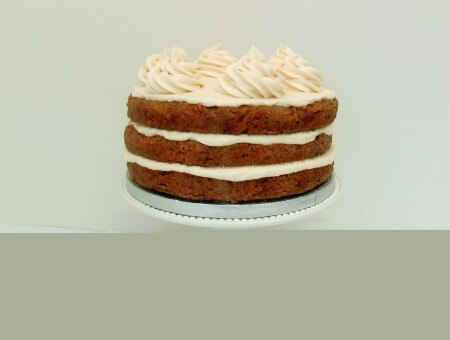 Vegan Gluten Free Carrot Cake with Cream Cheese Frosting