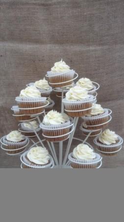 Vegan Gluten Free Carrot Cupcakes with Cream Cheese Frosting or Cream Cheese Cinnamon Frosting