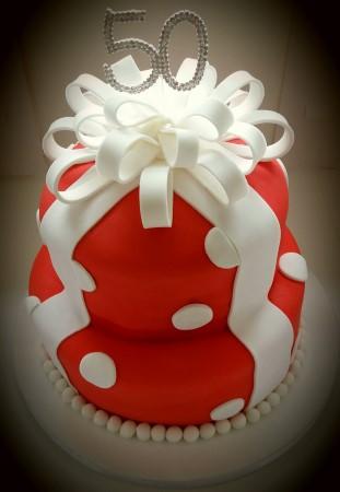 Spotty Celebration Cake