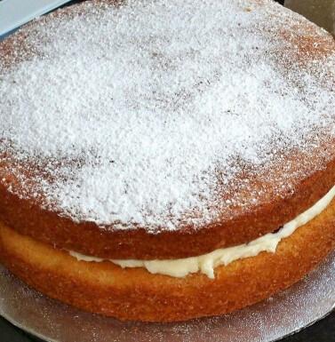 Everyday sponge cake
