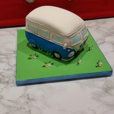 Campervan Celebration Cake