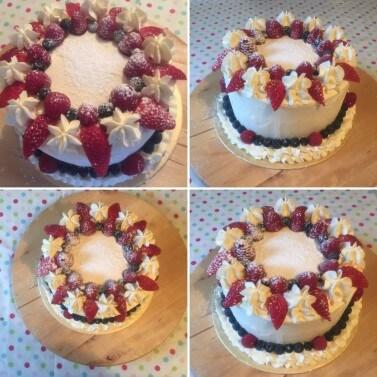 7inch Fresh Cream Cake