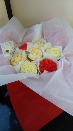Gluten Free Cupcake Bouquet
