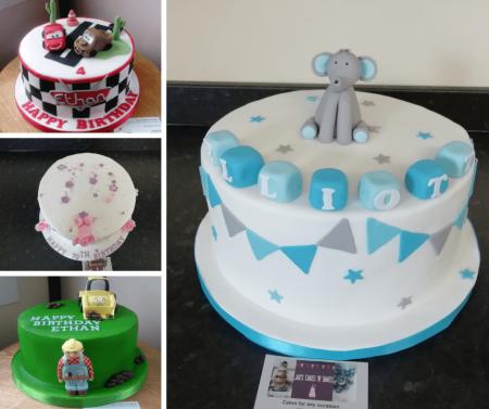 Dairy Free Celebration Cakes