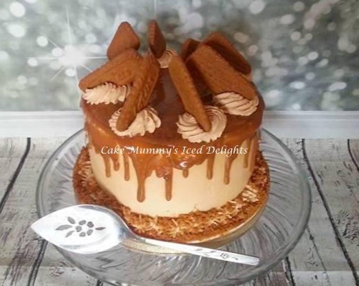 Biscoff Sponge Cake