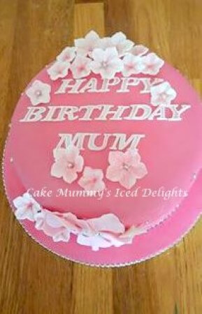 Pink Petunia cake