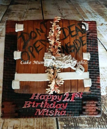 Bespoke Walking Dead cake- similar to customer design