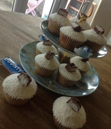 Bounty Lovers Cupcakes