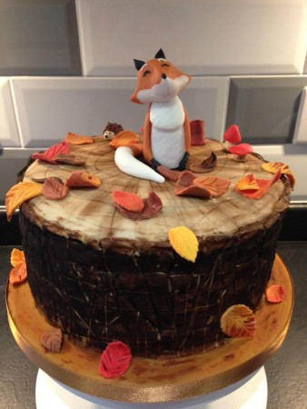 Autumn Fox Cake