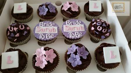 Bridal Shower or Engagement Cupcakes
