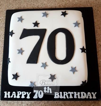 Milestone Number Cake