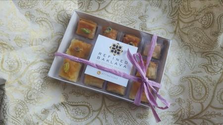 Pistachio Baklava 12 Piece Box