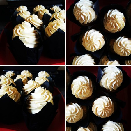 Vegan Vanilla Cupcakes With Vegan Buttercream