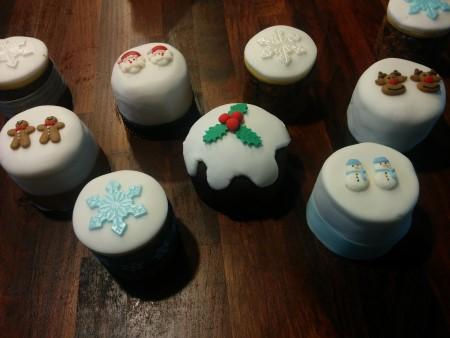 Mini Fruit Cakes