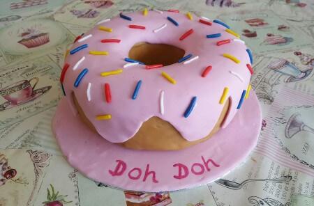 Dougnut ring cake