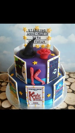 Broadway/West End themed Novelty cake