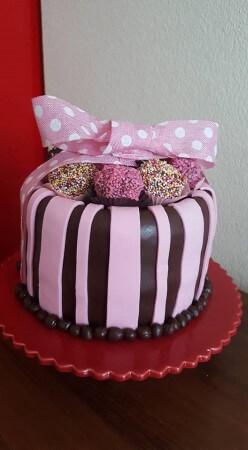 Chocolate Truffle box Cake