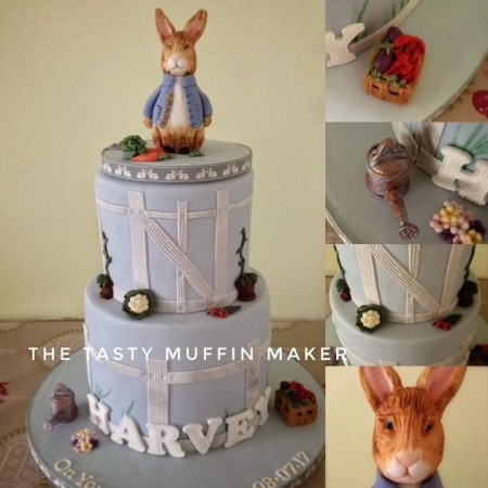 Beatrix potter cake (peter rabbit)