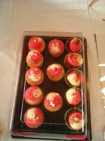 low calorie cranberry cupcake