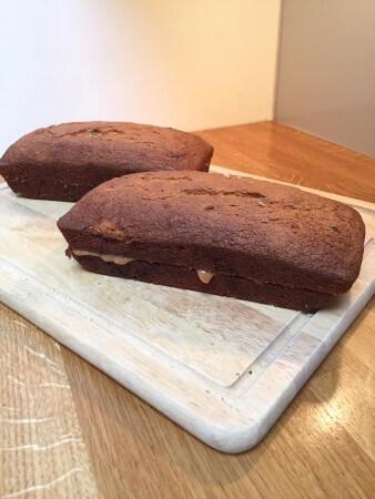 Banoffee loaf