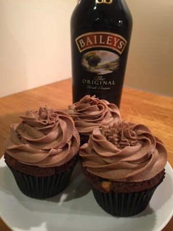 Chocolate and Baileys cupcakes