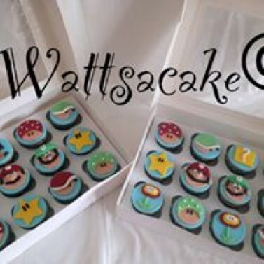 Mario theme cupcakes