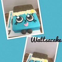 Cheeky chocolate bar cake