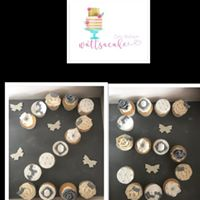 Bespoke pull a part cupcakes 25th anniversary