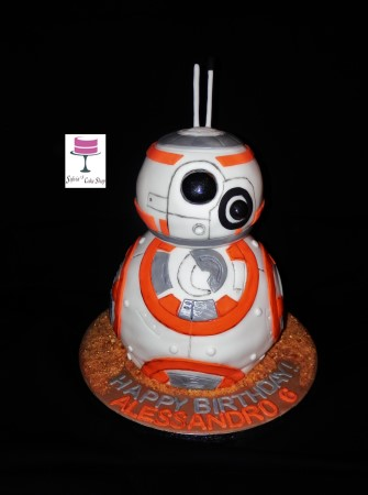 3D BB8 Star Wars drone