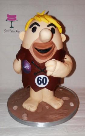Barney rubble cake