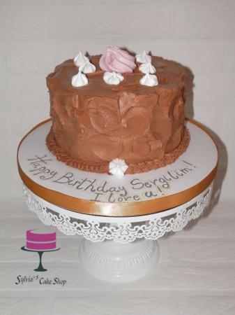 Bespoke chocolate cake