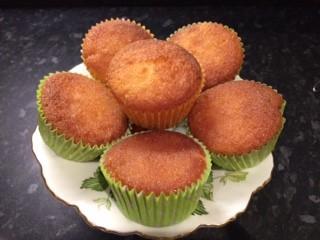 Gluten Free Lemon Drizzle Cupcakes
