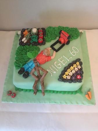 Miraculous Birthday Cake Garden Design Cakes By Kim Funny Birthday Cards Online Overcheapnameinfo