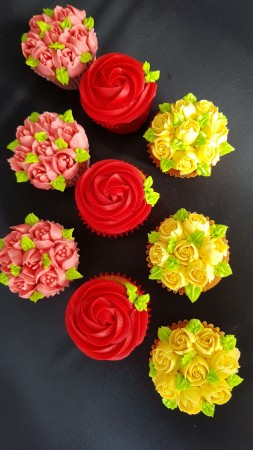Buttercream rose celebration