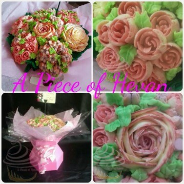 Beautiful cupcake bouquet