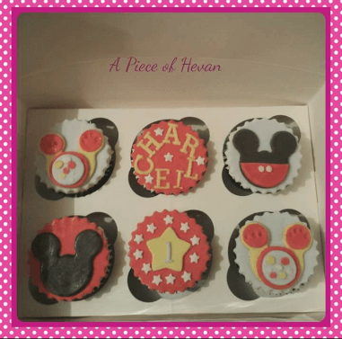 Mickey clubhouse cupcakes