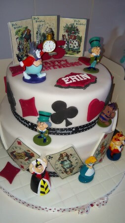 Alice in wonderland 2 tier