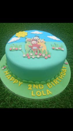 Childrens character cake