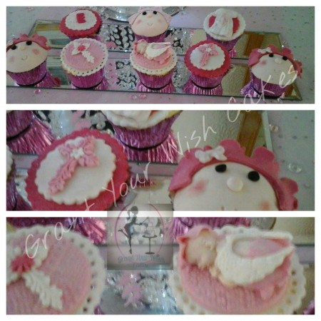 12 Girl or Boy Christening theme. Vegan, lactose Free or Gluten Free.,