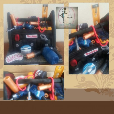 Dads tool bag ( can be made dairy free, gluten free, vegan)