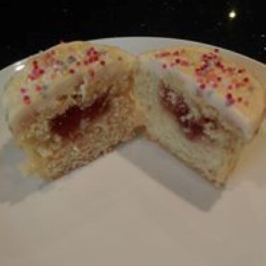 Cherry Bakewell Muffins