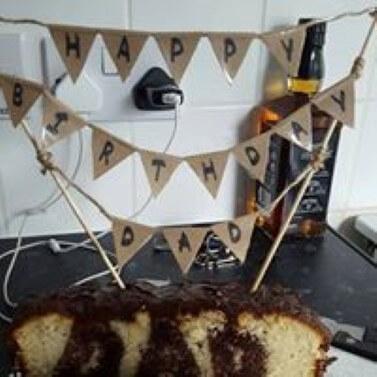 Hidden Word Cake
