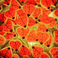 Ladybird Shortbread