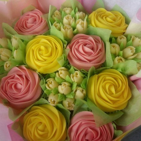 Spring Coloured bouquet
